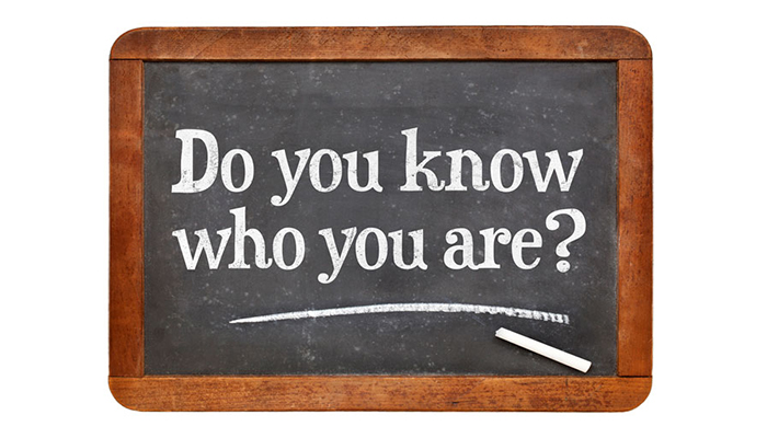 Do you know who you are question