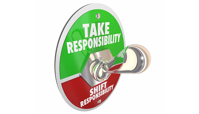 Take Responsibility for Your Life